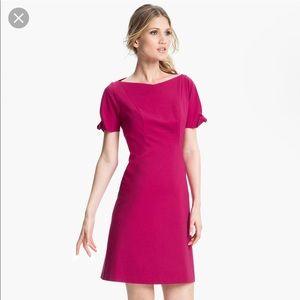 Ellie tahari short sleeve sheath dress